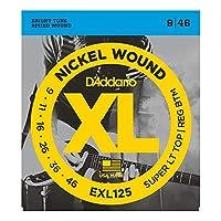 D'Addario EXL125 エレキギター弦×3セット