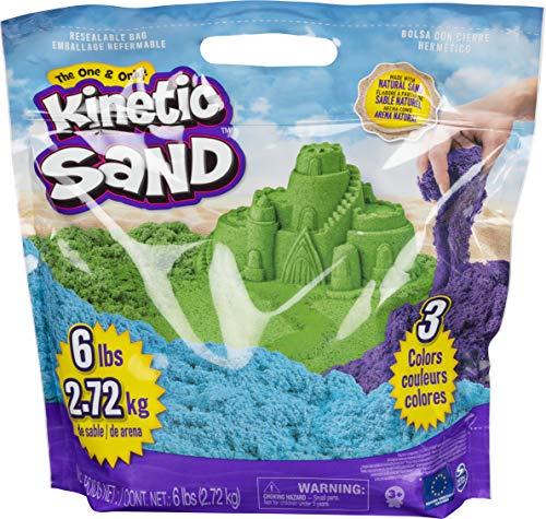 Kinetic Sand - Sandbastelsets für Kinder in Grün