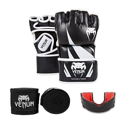 VENUM Challenger V.03 Set de MMA, Unisex Adulto, Negro, L