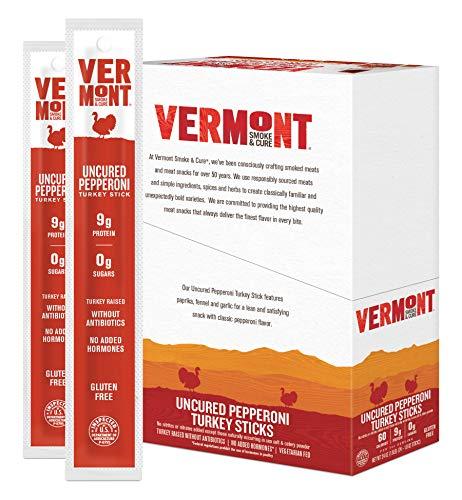 Vermont Smoke & Cure Jerky Sticks - Antibiotic Free Turkey -...