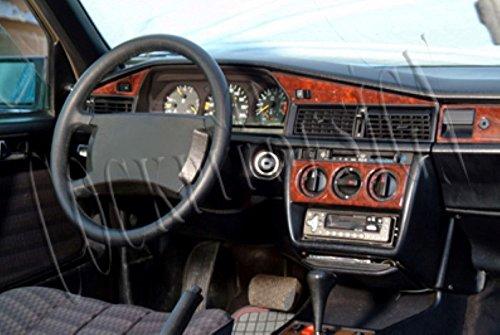 MERIC Decoración de Salpicadero (CD-TI00365) Versión 3D exclusiva, específicamente para el vehículo, 11 Pieza, Color: Titanio