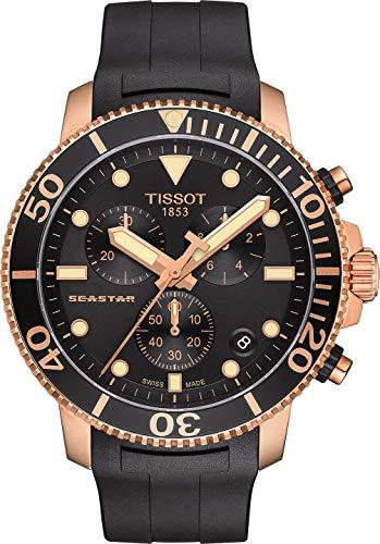 Tissot Herren-Chronograph Taucheruhr Seastar 1000 Quarz T120.417.37.051.00