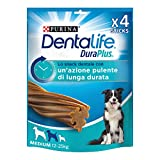 Purina Dentalife Duraplus Snack Cane per l'Igiene Orale, Taglia Medium - 5 Confezioni da 197 g Ciascuna