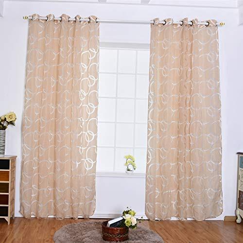 kexinda Kreis Blase Schere durchlässiges Fenster Vorhang Balkon Wohnzimmer Semi Sheer Jalousie Tür Raumteiler Bubbles Vorhänge