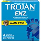 Trojan ENZ Premium Smooth Lubricated Condoms - 36 Count
