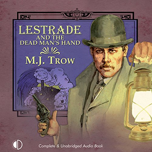 Lestrade and the Dead Man's Hand audiobook cover art