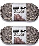 Bernat Blanket Big Ball Yarn (2-Pack) Silver Steel 161110-10001