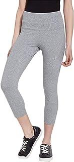 Lysse Women's Flattering Cotton Crop Leggings