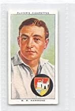 Walter Hammond 1938 Player Cigarettes Cricketers #12 (VG+)