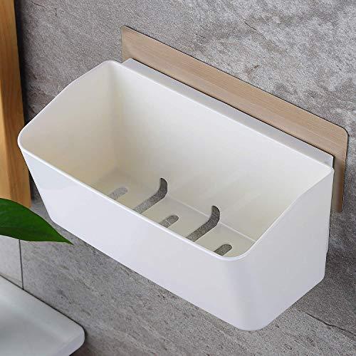 Ducha Caddy cuarto de baño Estante auto-adhesivo Esquina de ducha Estante de almacenamiento Cestas de almacenamiento para baño UniGiraffe