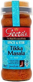 Geeta's Especias Y Revuelva Tikka Masala 350g Leve