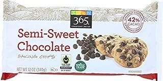 365 Everyday Value, Semi-Sweet Chocolate Baking Chips, 12 oz