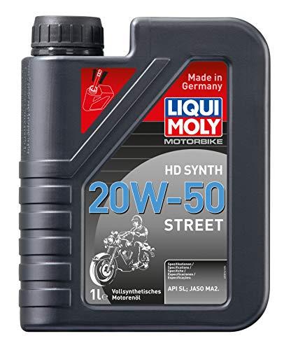 LIQUI MOLY 3817 Motorbike HD Synth 20W-50 Street 4 l
