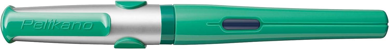 color verde Pelikan Pelikano Pluma estilogr/áfica tama/ño F, para diestros