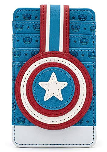 Loungefly X Marvel Captain America Shield Cardholder