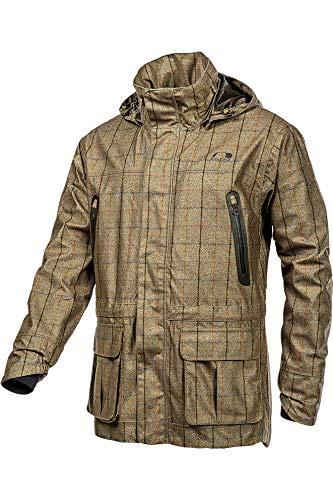 2020 Baleno Heren Moorland jas - Khaki Tweed
