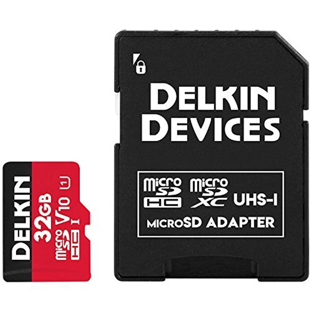 政治家慣れる現像Delkin DDMSDR500128 Devices 128GB Select microSDXC UHS-I (U3/V30) Memory Card [並行輸入品]