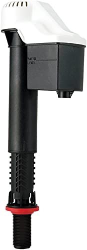 Korky 528 Toilet Fill Valve, Universal, BLACK