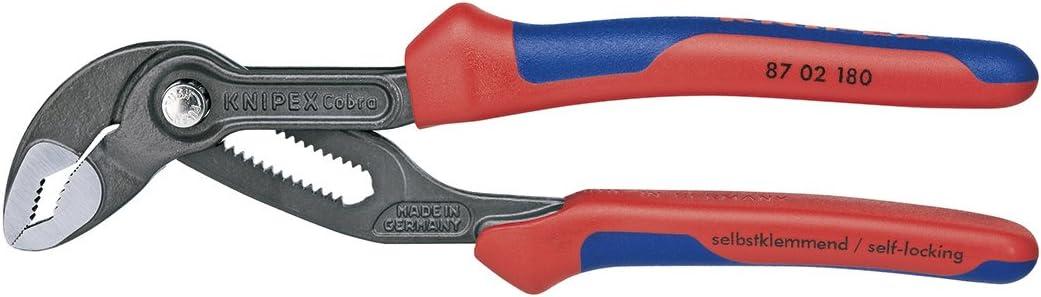 KNIPEX - 87 02 Award-winning store 180 SBA Multi-Co Pliers Tools Cobra Water Pump Super popular specialty store