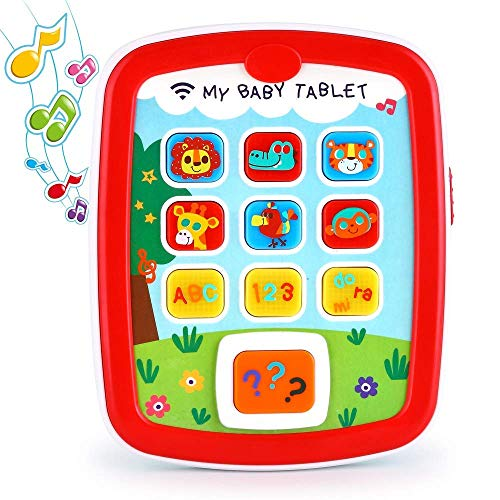 EARSOON Toddler Learning Tablet for 1 Year Old, Baby Ipad for 6M -12M -18M+...