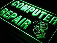 ADVPRO i081-g OPEN Computer Repair Display Shop NEW Light Sign