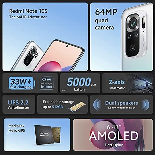 Xiaomi Redmi Note 10S Pebble White 128GB Dual SIM - 5