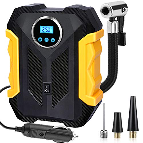 AYBE Digital Tyre Inflator, Car Tire Pump, 12V Portable Air Compressor...