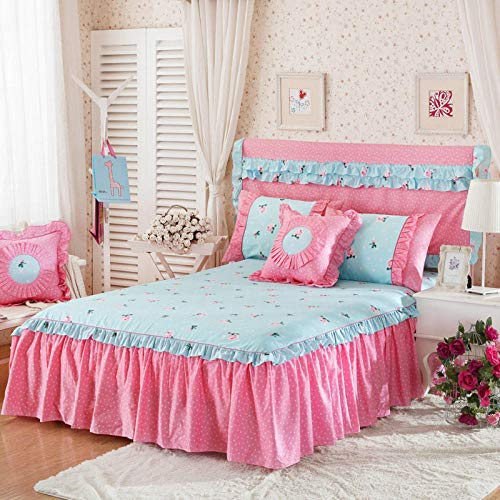 HPPSLT Protector de colchón - Protector de colchón antialérgico Colchón de algodón de una Pieza -21_180 * 200cm