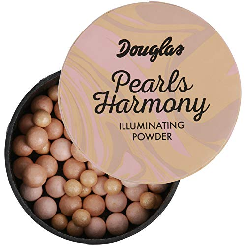 Douglas Pearls Harmony Illuminating Powder Highlighter Inhalt: 20g Illuminating pearls für extra Strahlen im Gesicht und am Körper. Highlighter