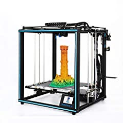Core XY structure design, full belt drive, higher stability and printing accuracy, ensure the quality of the model; Dual Z-axis design, increase the bearing capacity of the hot bed, reduce errors in printing, and print more finely. X5SA DIY assembly,...