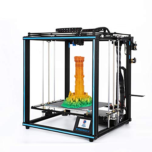 TRONXY X5SA 3D Drucker High precision 3D Printer DIY Kit Fullmetal Frame with 3.5 inches Touch Screen + Auto Leveling Function, Max Printing Size: 330x330x400mm
