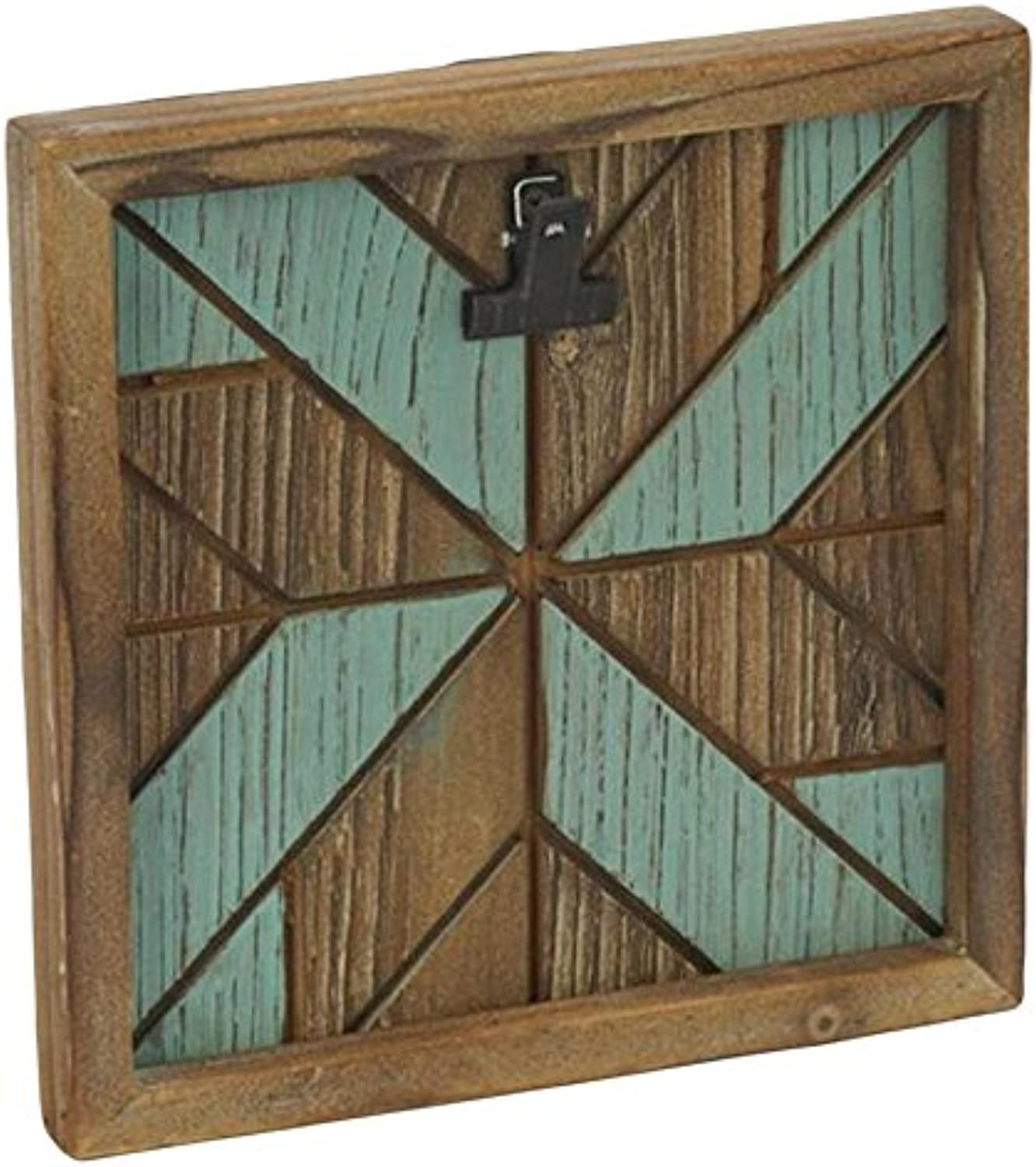 StealStreet 17933 Geometric Single Clip Wooden Wall Hanging Frame