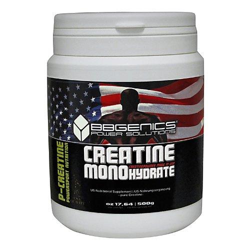 BB Genics Creatine Monohydrate, Neutral, 500g Dose, SP-CR0320