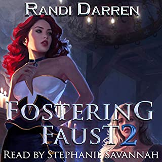 Fostering Faust: Book 2                   By:                                                                                                                                 Randi Darren                               Narrated by:                                                                                                                                 Stephanie Savannah                      Length: 13 hrs and 12 mins     41 ratings     Overall 4.8