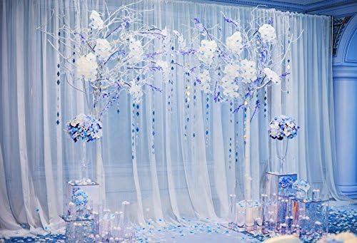 Yeele 10x10ft Colorful Flower Photography Background Wedding Decoration Bouquet Archway Wedding Ceremony Photo Portrait Vinyl Studio Video Shooting Photo Backdrop Wallpaper