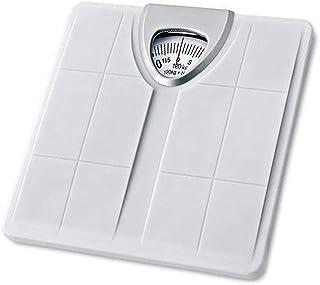 HXCD Báscula de Esfera giratoria mecánica de precisión, Báscula de baño mecánica, Báscula de Peso de precisión, Báscula de Salud Corporal con Resorte, 264 lbs (120 kg)