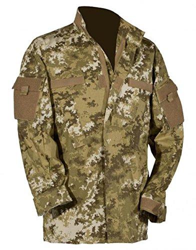 MFH US Veste de Combat, Tissu Ripstop, en Coupe ACU, avec 4 Poches - vegetato Desert - Vegetato Desert, XXL