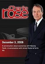 Charlie Rose - Nassim Taleb / James Taylor & Yo-Yo Ma (December 3, 2008)
