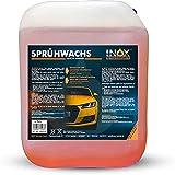 INOX® Sprühwachs – Premium Spray Wax 5L mit Abperleffekt - Autopflege für Glanz & Schutz - Perfekte Lackpflege und Sprühversiegelung - Für alle Lacke geeignet