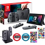 Nintendo Switch 32 GB Console with Super Mario Party, Mario Kart 8 Deluxe & More