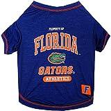 Pets First NCAA Florida Gators Dog T-Shirt, Large