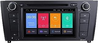 ZLTOOPAI Für BMW E81 E82 E87 E88 1er Serie Android 10 Autoradio Stereo GPS Navigation Audio Stereo 7 Zoll IPS Media Player Unterstützung DSP Backup Kamera DVR OBD TPMS