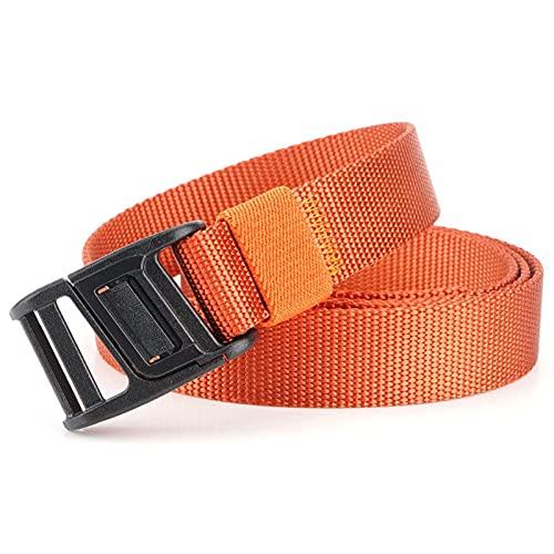 Buitenproduct Gesp 125cm 2.5cm 1200D nylon tactische riem Zinklegering duurzaam (Color : Orange)