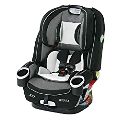 4 in 1 car seat gives you 10 years of use: seamlessly transforms from rear facing harness car seat (4 40 pounds), to forward facing harness car seat (22 65 pounds), to high back belt positioning booster (40 100 pounds), to backless belt positioning b...