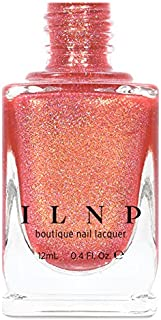 ILNP Citrus Punch - Orange Coral Holographic Nail Polish