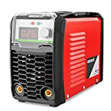 Greencut MMA-200 Saldatrice Inverter DC MMA 200Amp iGBT Turboventilized Display LCD, Rosso, 200 A