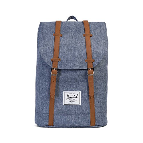 Herschel Retreat Backpack Mochila, dark chambray