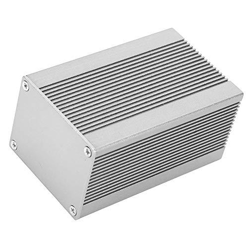 Contenitore di progetto elettronico fai-da-te Scatola di raffreddamento in alluminio per strumento a circuito stampato Cassa 40 x 50 x 80 mm