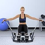 JHSHENGSHI Rudergeräte Haushalt, Mute Rudergerät Taille Ausbildung Multi-Funktions-hydraulische Rudersport Fitnessgeräte. - 5