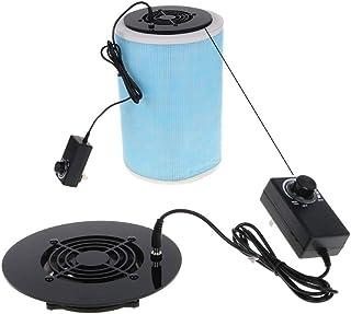 QXbecky 1PCVentilador de gobernador de Fuente de alimentación de Velocidad en el hogarFiltro de Aire purificador de AireDIY